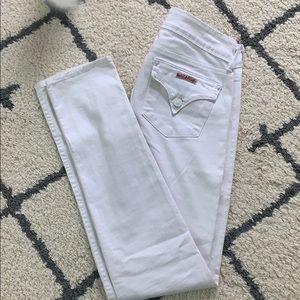 White Hudson Jeans